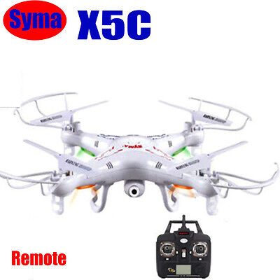 Upgraded Syma X5C Explorers 2.4G 4CH 6-Axis Gyro RC Quadcopter HD Camera Drone