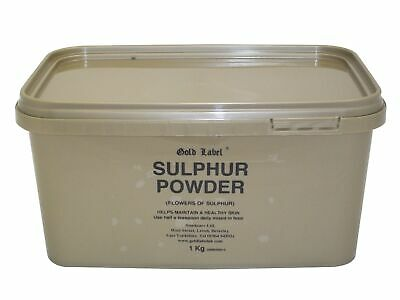Gold Label Sulphur Powder Sublimed flowers of sulphur, the purest form available