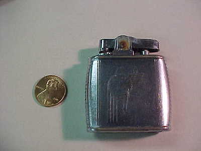 nice art deco silver ronson lighter  viking model looks cool