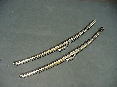"""Ford windshield wiper blades Fairlane Falcon Torino Galaxie 15"""" stainless"""