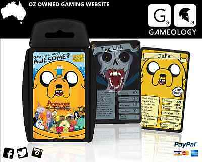 Top Trumps Adventure Time Card Education Game