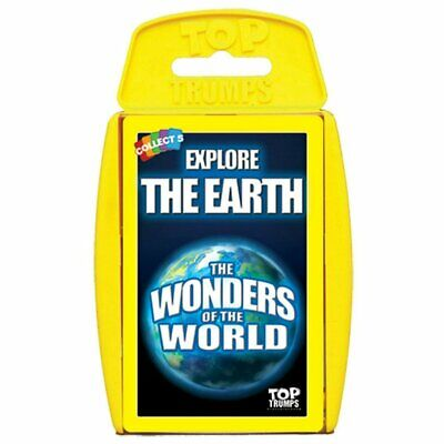 Top Trumps The Wonders of the World Card Education Game