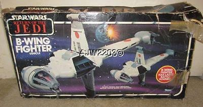 Kenner Star Wars Return Of The Jedi B Wing Fighter in Box