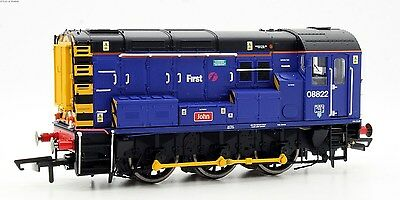 Hornby Oo R3343 First Great Western Class 08 822 'john' Diesel Shunter *new*