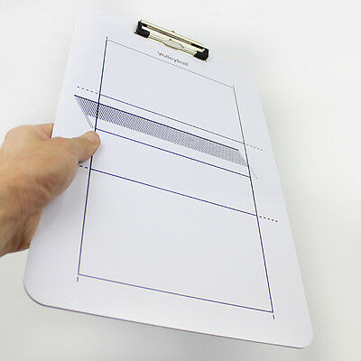 Double Erasable Sided Erase Play Board for Coaching Volleyball Tactic Coaches