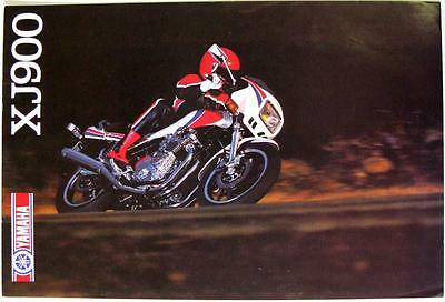 YAMAHA XJ900 - Motorcycle Sales Brochure - 1983 - #LIT-3MC-0107704-83E