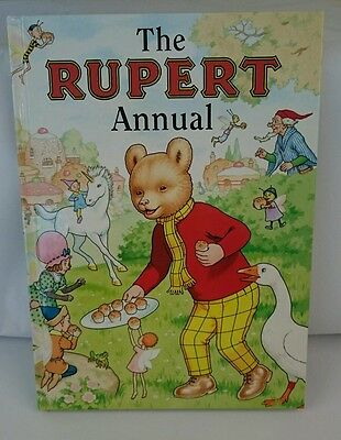 SIGNED Limited Edition 220 Of 500 The Rupert Annual: No. 63  (Hardback, 1998)