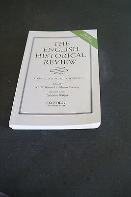 The English Historical Review Volume 126 No 522 October 2011