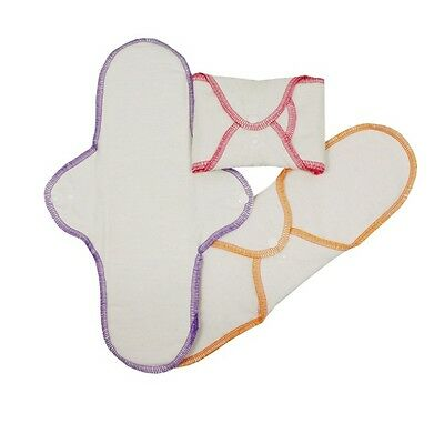 ImseVimse Organic Cotton Cloth Night Pads - Sanitary Towels - Pack of 3