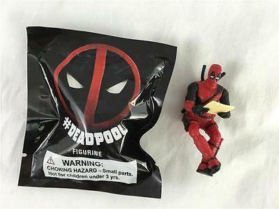NEW In Sealed Package Deadpool Figurine Movie Promo Toy Marvel Collectible