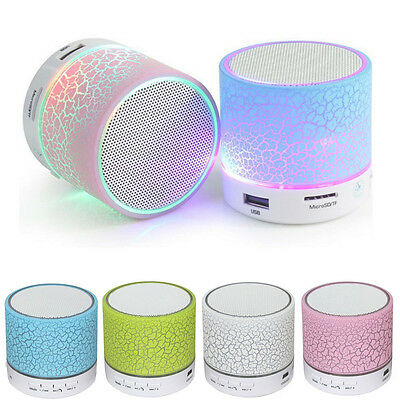 Portable Mini Wireless Stereo Bluetooth Speaker FM For iPhone Samsung iPad PC