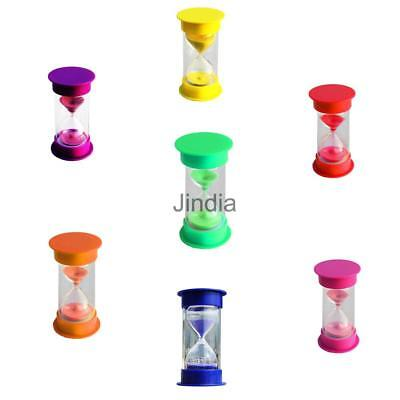 1/5/10/15/20/30 Minutes Sand Glass Sandglass Hourglass Timer Clock Home Decor