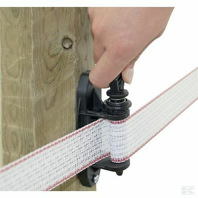 40MM ELECTRIC TAPE TENSIONER INSULATOR Tensioning Electric Fence Poly Tape