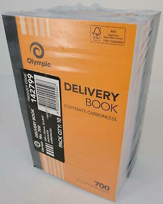 10 x Olympic #700 Delivery Book Duplicate 200x125mm 50Lf 140869