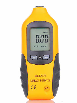 New Digital LCD Microwave Leakage Radiation Detector Meter Tester 0-9.99m W/CM2