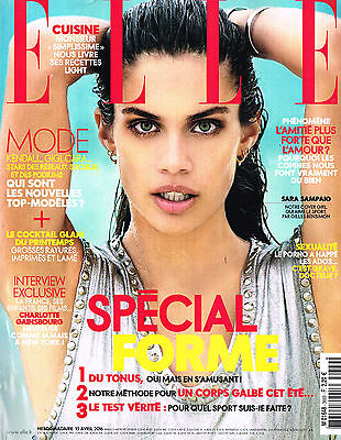 ELLE France 15 April 2016 SARA SAMPAIO Charlotte Gainsbourg ELISABETH ERM @New@