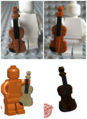 Custom VIOLIN Instrument for Lego Minifigures Musician -Pick Your Style!-