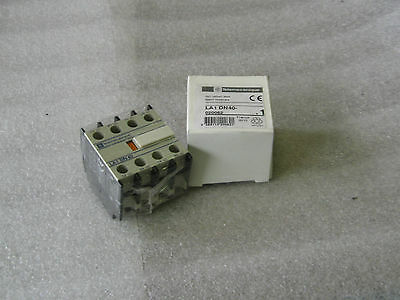 New Telemecanique Auxiliary Contact, # LA1DN40, LADN40,  Warranty