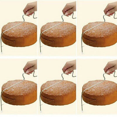 Wire Layered Cake Slicer Cutter Levelling Leveller Fondant Cake Wedding Supplies