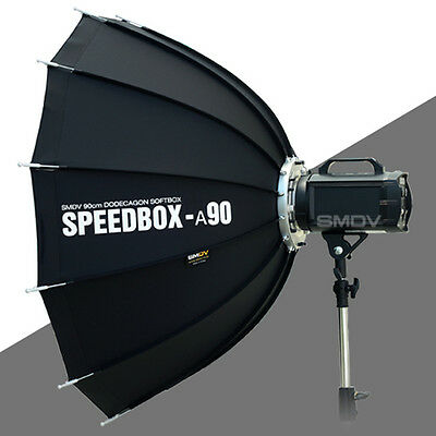 """SMDV Soft-Box Dodecagon Diffuser A90 35"""" for Studio Speed-Light Lite Flash Lamp"""