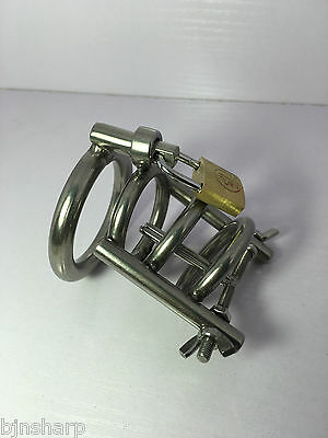 *** New Male Chastity Cage Device Including Urethral Stretcher 3 Sizes ***