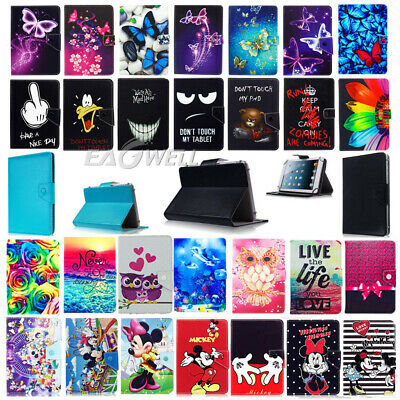 "For Samsung Galaxy Tab A 7.0""/ 8.0""/9.7""/10.1""Tablet PU Leather Stand Case Cover"