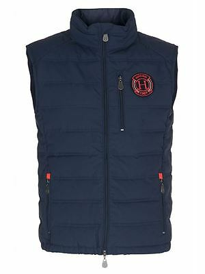 Harcour SS16 Mens Borneo Body Warmer Navy- Choose Size