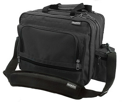 Hopkins Mark V Shoulder Bag for Home Health Nurses- Black 1 ea