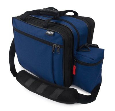 EZ View Med Bag for Home Health Nurses and Medical Professionals - Navy 1 ea