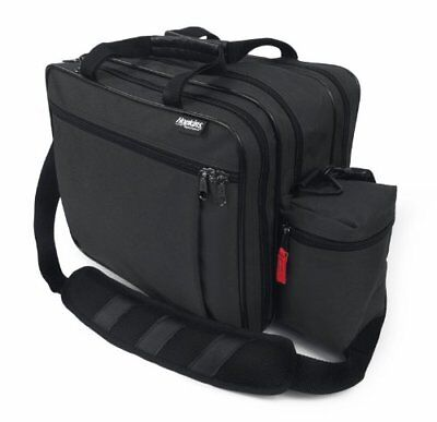 EZ View Med Bag for Home Health Nurses and Medical Professionals - Black 1 ea