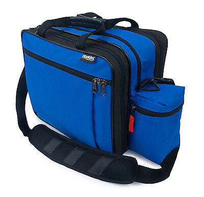 EZ View Med Bag for Home Health Nurses and Medical Professionals - Royal Blue...