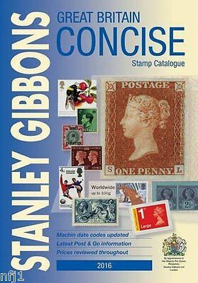 GB - 2016 Edition Stanley Gibbons Great Britain Concise Catalogue (NEW)