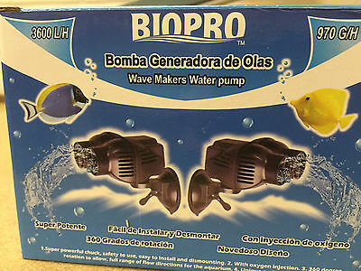 Biopro Wave Maker Freshwater / Marine Coral Aquarium Fish Tank Power Water Pump