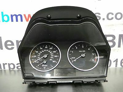 BMW F20 1 Series Manual Speedo Clocks/Binnacle 62109325623