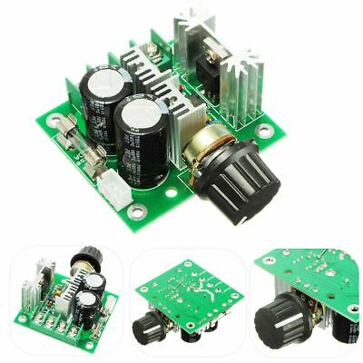 12V~40V 10A PWM DC Motor Speed Control Switch Controller Volt Regulator Dimmer
