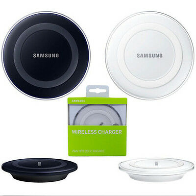 Genuine Qi Wireless Charging Charger Samsung Galaxy S6 S7 Edge Plus+ Note 5