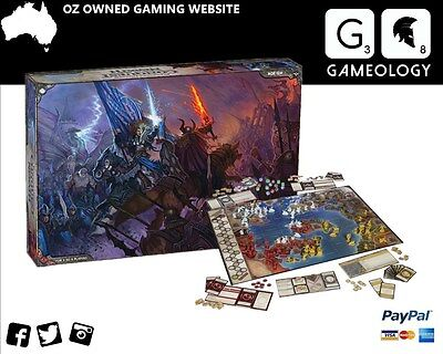 D&D Dungeons & Dragons Conquest of Nerath Board Game