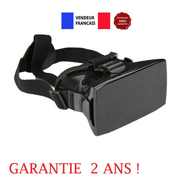 Lunettes casque realite virtuelle 3D VR Box Gamepad telecommande Iphone Samsung