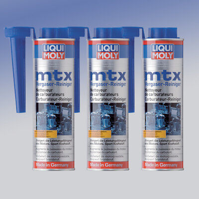 3x liqui moly mtx vergaser reiniger 300 ml kraftstoff. Black Bedroom Furniture Sets. Home Design Ideas