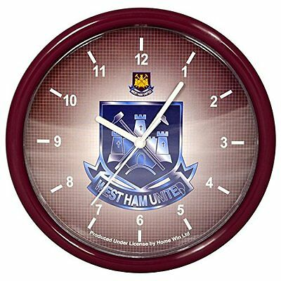 West Ham United Crest Wall Clock