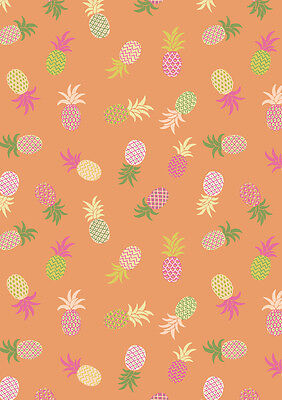 Tropicana 100% Cotton Fabric Lewis and Irene Flamingo Palm Trees Quilting Sewing
