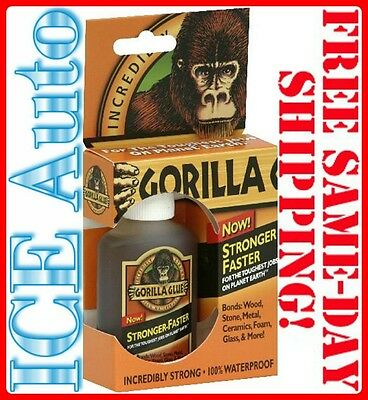 5-DAY SALE! GORILLA GLUE 2oz 50002 Multi-Purpose Waterproof Adhesive MADE IN USA