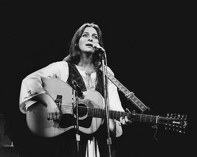 Folk Singer JUDY COLLINS Glossy 8x10 Photo Pop Print Country Poster