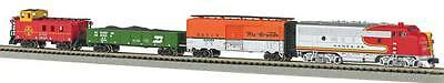 Bachmann N Super Chief E-Z Track 3 Car Set With Operating Headlight BAC24021