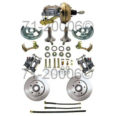New Complete Front Disc Brake Conversion Kit Fits Chevy II Nova