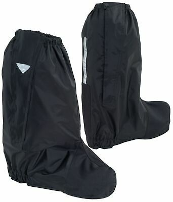 Tourmaster Deluxe Rain Boot Covers Motorcycle Reflective
