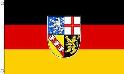Saarland Flag 5'x3' German Germany State