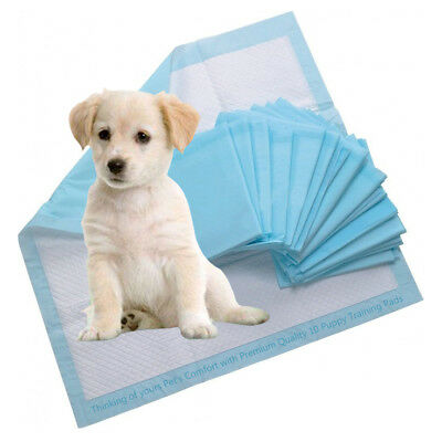 10 PUPPY DOG TRAINING PADS SUPER ABSORBENT TRAINER PADS PET TOILET TRAIN 60x60CM