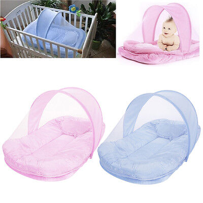 Baby Tent Mosquito Infant Foldable Crib Bed Net Canopy Playpen Mattress TravelHT
