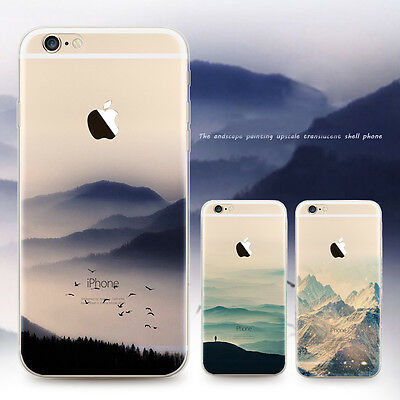 Ultra Thin Clear Pattern Rubber Silicone Case Cover Skin for Apple iPhone5&5s SE